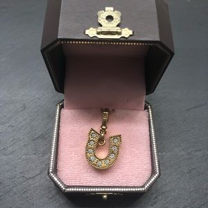Juicy Couture Lucky Horseshoe Charm with Box